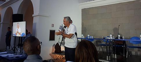 """L'assessore regionale Filippo Spanu è intervenuto, ieri sera a Nuoro, all'evento """"processo all'Europa"""", sul fenomeno dei migranti."""