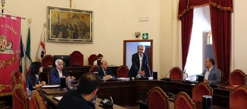 Il governatore Pigliaru e l'assessore Paci a Sassari per condividere il progetto di sviluppo da 70 milioni con sindacati e imprese.