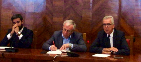 Il governatore Pigliaru e l'assessore Careddu al tavolo di crisi per Air Italy: «Dal piano industriale garanzie per crescita in Sardegna».