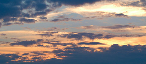Cielo nuvoloso
