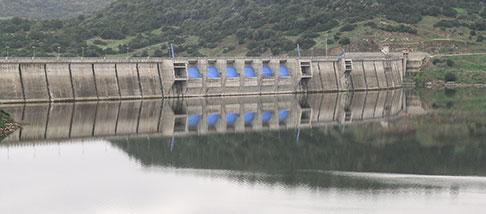 Lavori pubblici agricoltura diga acqua risorse idriche